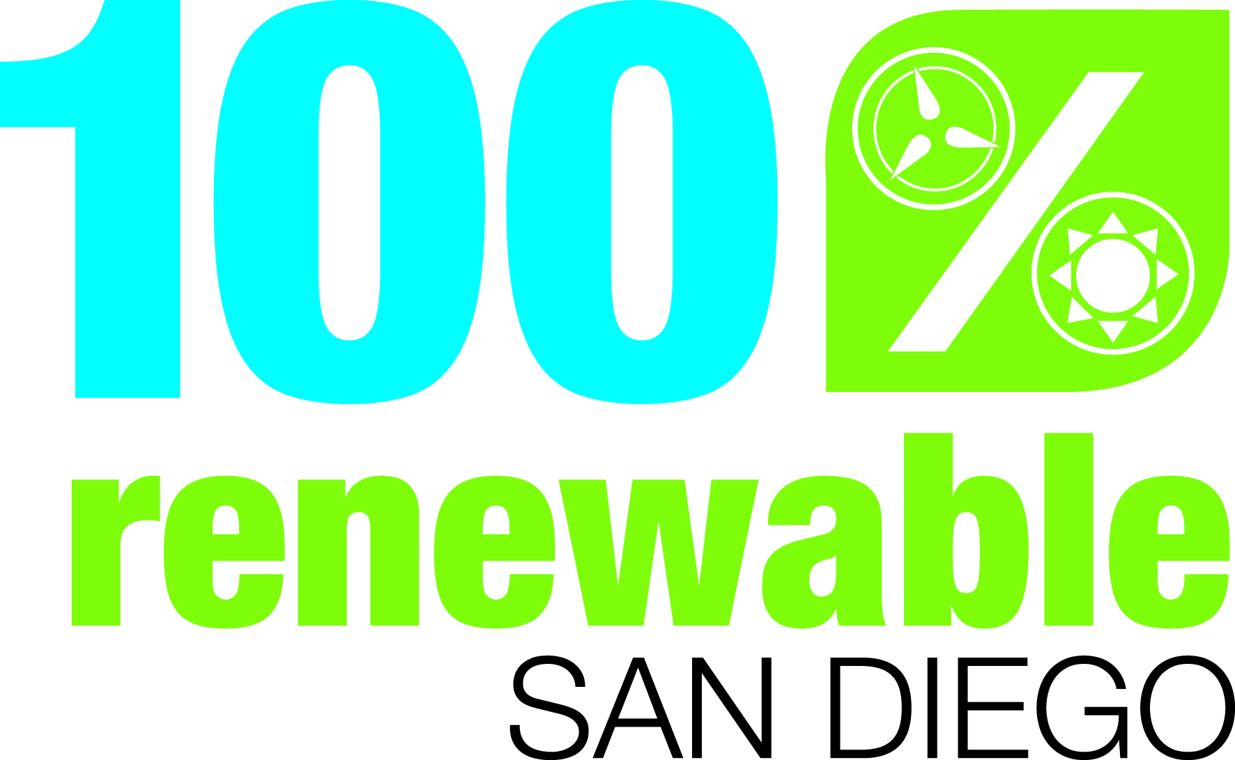100% Renewable San Diego Logo