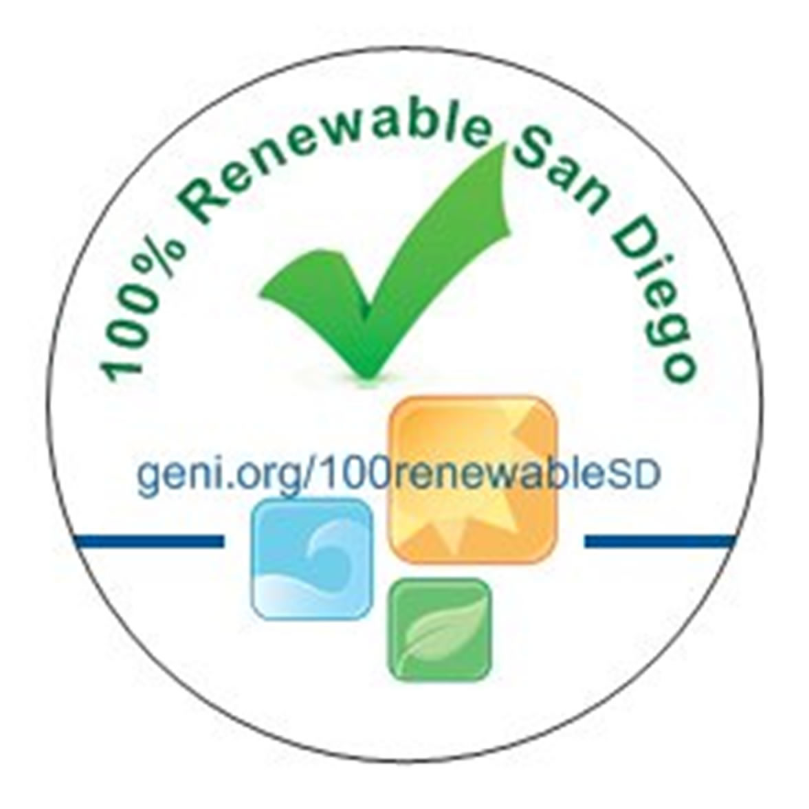 100 percent renewable pledge san diego