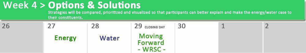 WRSC - week 4