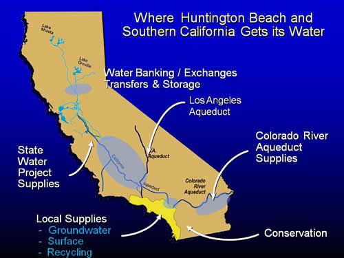 water supply in southern california California's drought is real and is affecting the main sources of water for southern california, including fountain valley knowing where our water comes from will help you understand how the current weather conditions are affecting fountain valley's water supply water sources fountain valley's .