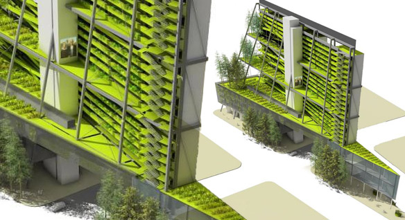 Vertical Farm Sketch 2