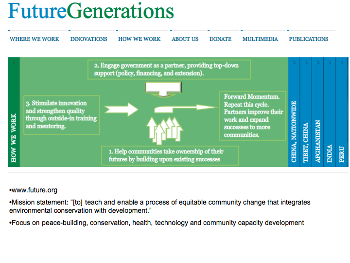 Future Generations: An Organization Working to Alleviate Poverty