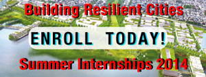 Join Us For Our Summer Internship Project: Building Resilient Cities