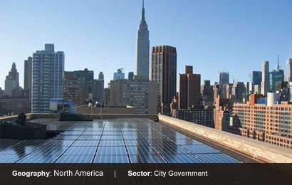 """New York's identity is its skyline. By making our buildings greener and greater"