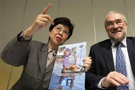 New UN atlas links climate change, health